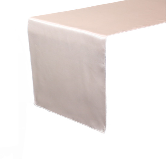 14 x 108 inch Satin Table Runners Blush