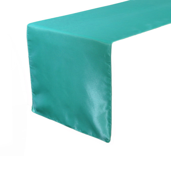 14 x 108 inch Satin Table Runners Teal