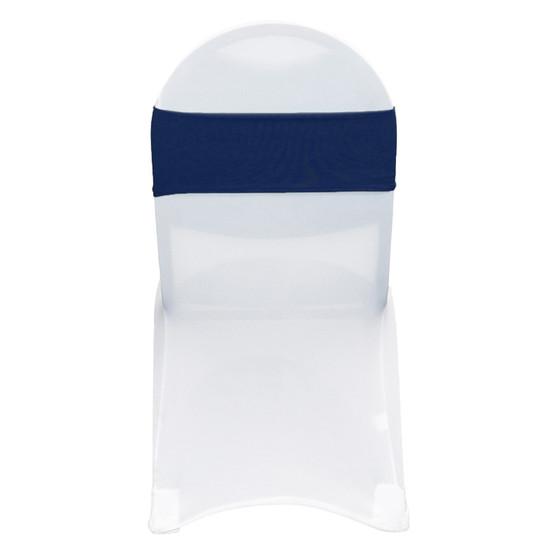 Stretch Spandex Bands Navy Blue
