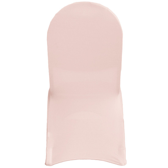 wholesale Spandex Chair Covers Blush