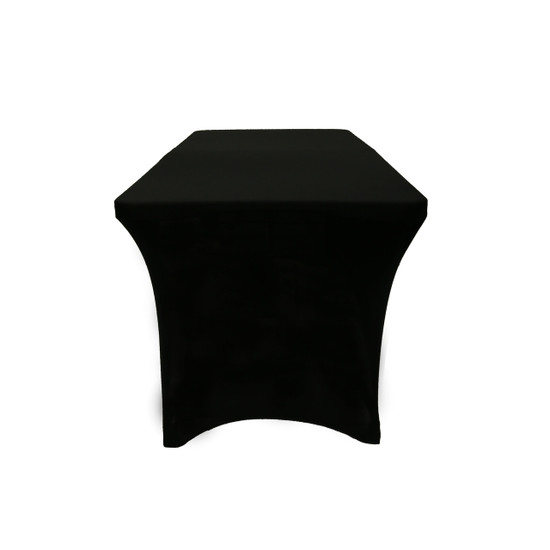 black spandex table covers