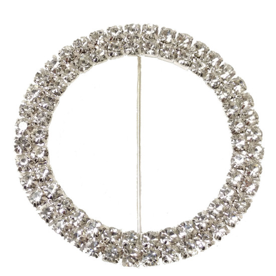 Rhinestone Buckle Slider