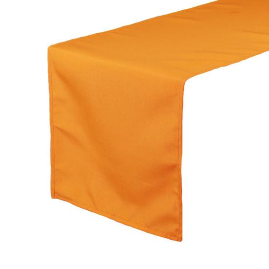 Polyester Table Runner Orange