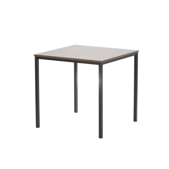 table without tablecloth
