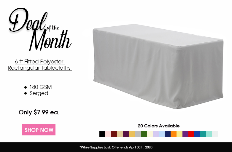 Polyester Fitted Tablecloths