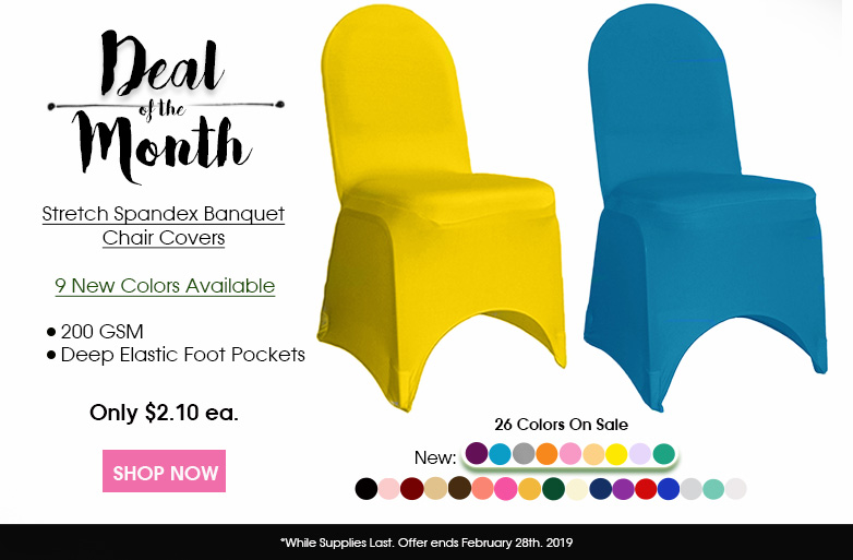 Spandex Banquet Chair Covers