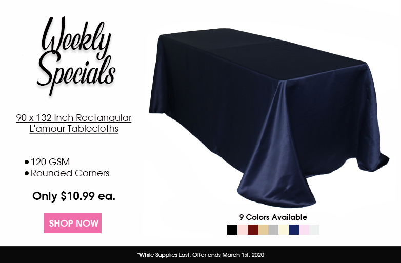 Lamour tablecloths