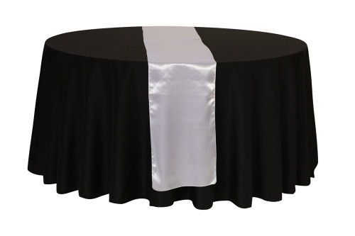 14 X 108 Inch Satin Table Runner White Your Chair Covers