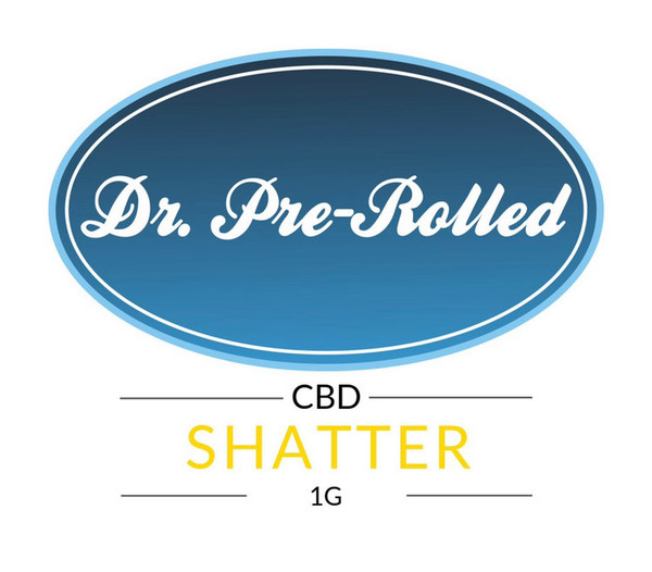 Dr. Pre-Rolled CBD Shatter, concentrate