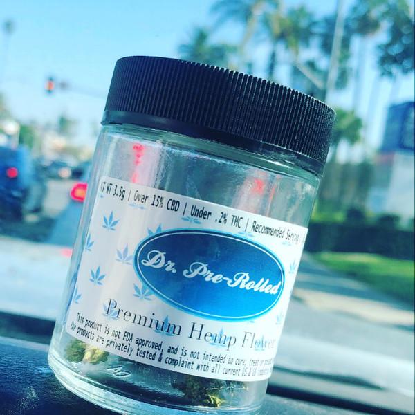 Premium Hemp Flower - 1/8 Jar