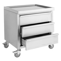 MDS-6-700 Mobile Work Stand with 3 Drawers 700mm W x 600 D x 900 H