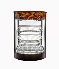 DKN-1P Deaken Commercial Pie Warmer with Toughened Glass