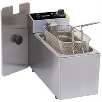 L370-A Apuro Single Tank Single Basket Countertop Fryer 2kW