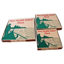 "GG998 Compostable Printed Pizza Boxes 12"" (Pack of 100)"