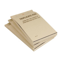 E166 Fiesta Restaurant Waiter Pads Triplicate Large (Pack of 50)