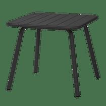 Porto 80 Table Black 800mm W x 800 D x 750 H