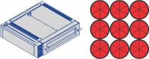 BL105/105 Fornitalia BL Deck Oven 9 x 33 cm pizzas 1450mmW x 1290 D x 370 H