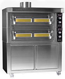 BL105/105 Fornitalia BL Deck Oven 9 x 33 cm pizzas 1450mm W x 1290 D x 370 H