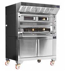MG2 105/105 Fornitalia Pizza Oven 18 x 33cm Pizza's 1360mm W x 1470 D x 970 H