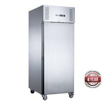 XURF400SFV FED-X S/S Single Door Upright Freezer 429 Litre