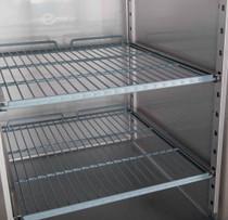 XSS8C20S3V FED-X S/S Three Door Sandwich Counter 580 Litre 2020mm Width