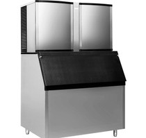 SK-2000P Air-Cooled Blizzard Ice Maker Average Output/24h: 900kg
