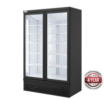 LG-1000BGBMF Double Door Supermarket Freezer 1253mm Width