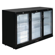 GL014-A Polar G-Series Under Counter Back Bar Cooler with Hinged Doors 320Ltr