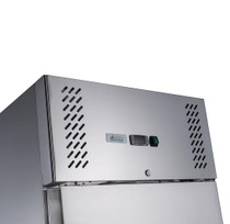XURC600SFV FED-X S/S Single Door Upright Fridge 600 Litres 680mm Width