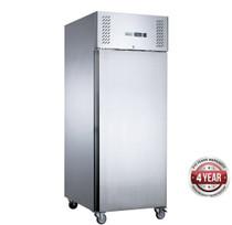 XURF600SFV FED-X S/S Single Door Upright Freezer