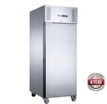 XURF650SFV FED-X S/S Single Door Upright Freezer 650 Litres