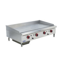 GG-48 Four burner Natural Gas Griddle Top 1220mm W x 761 D x 412 H