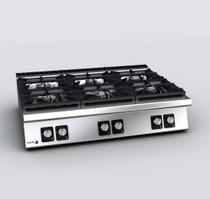 C-G960H Fagor 900 Series Gas 6 Burner 1200mm Width