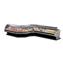 PAN2500 Curved front glass deli display 2500mm W x 1140 D x 1260 H