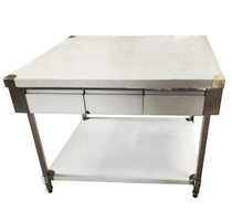 SWBD10-1500 Centre Island Workbench with 3 Drawer Each Side 1500mm Width
