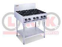 LKKOB6D 6 Gas Open Burner Cooktop with Legs