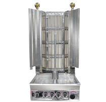 KMB4ELPG Semi-automatic Kebab Machine LPG Gas 4 Burner