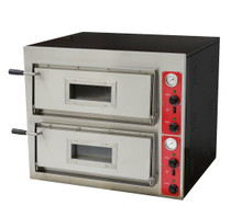 EP-1-SDE Black Panther Pizza Double Deck Oven