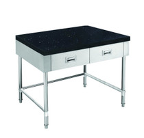 SWBD-6-0900-LS 900mm Width S/S Kitchen Tidy Cabinet with Drawers & Stone Top - 600mm Deep