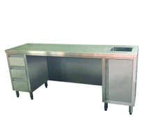 SS6-2100R-H 2100mm Width Multipurpose Utility Bench with Sink