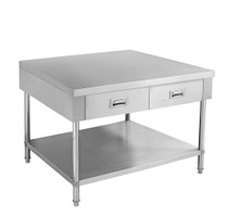 SWBD-6-0900 Work bench with 2 Drawers and Undershelf 900mm Width