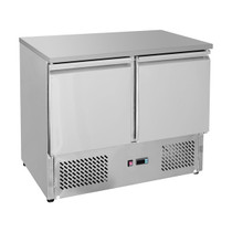 GNS900B Two Door Compact Workbench Fridge 257Ltr 903mm Width