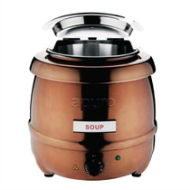 CP851-A Apuro Soup Kettle Copper Finish 10 Ltr