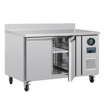 DL916-A Polar U-Series 2 Door Counter Freezer with Upstand 282Ltr