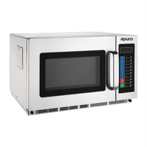 FB864-A Apuro Medium Duty Programmable Commercial Microwave 34 ltr