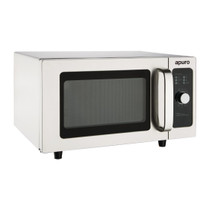 FB861-A Apuro Light Duty Manual Commercial Microwave 25 Ltr