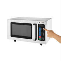 FB862-A Apuro Light Duty Programmable Commercial Microwave 25 Ltr