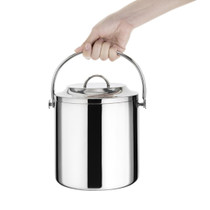 C569 Olympia Ice Bucket with Lid 3.3 Litre 230mm H x 180mm Ø