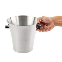 DR594 Olympia Wine & Champagne Bucket Stainless Steel 210mm Ø x 230mm H