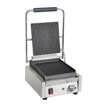 DY993-A Apuro Bistro Ribbed Contact Grill 290mm W x 210 H x 395 D